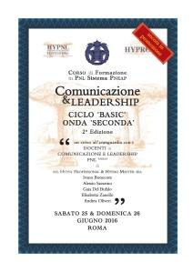 comunicazione & leadership, ciclo basic, onda seconda, 2° ed