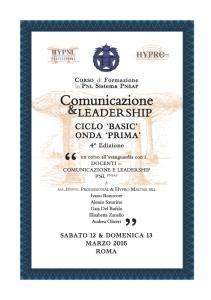 comunicazione & leadership, onda prima, 4° ed
