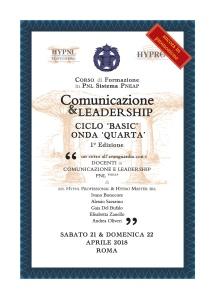 comunicazione & leadership, onda quarta, 1° ed
