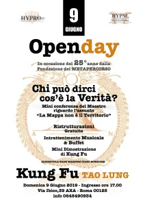 open day hypnl-hypro-tao lung, 09-06-19, roma